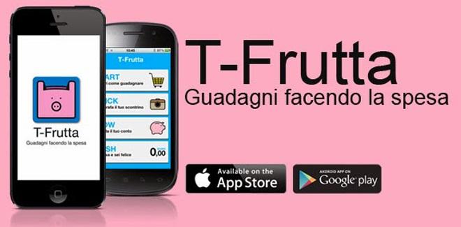 id428350 - Arriva T-Frutta: la prima app che fa guadagnare andando a fare la spesa