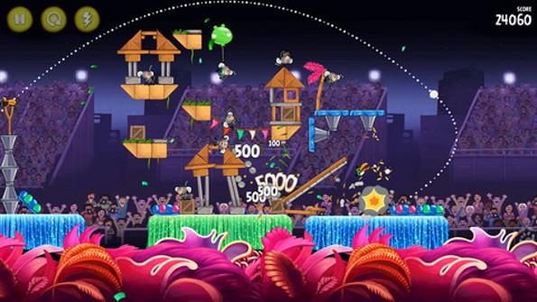 Angry Birds Rio si aggiorna su iOS, con 24 nuovi livelli e potenziamenti vari