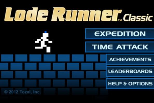Lode Runner Classic: il platform di Broderbund disponibile su iPhone, all'ennesima potenza