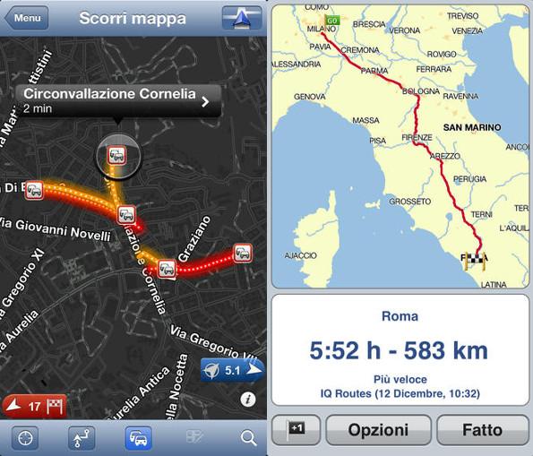 TomTom. Mappe aggiornate e nuove funzionalità su iDevices